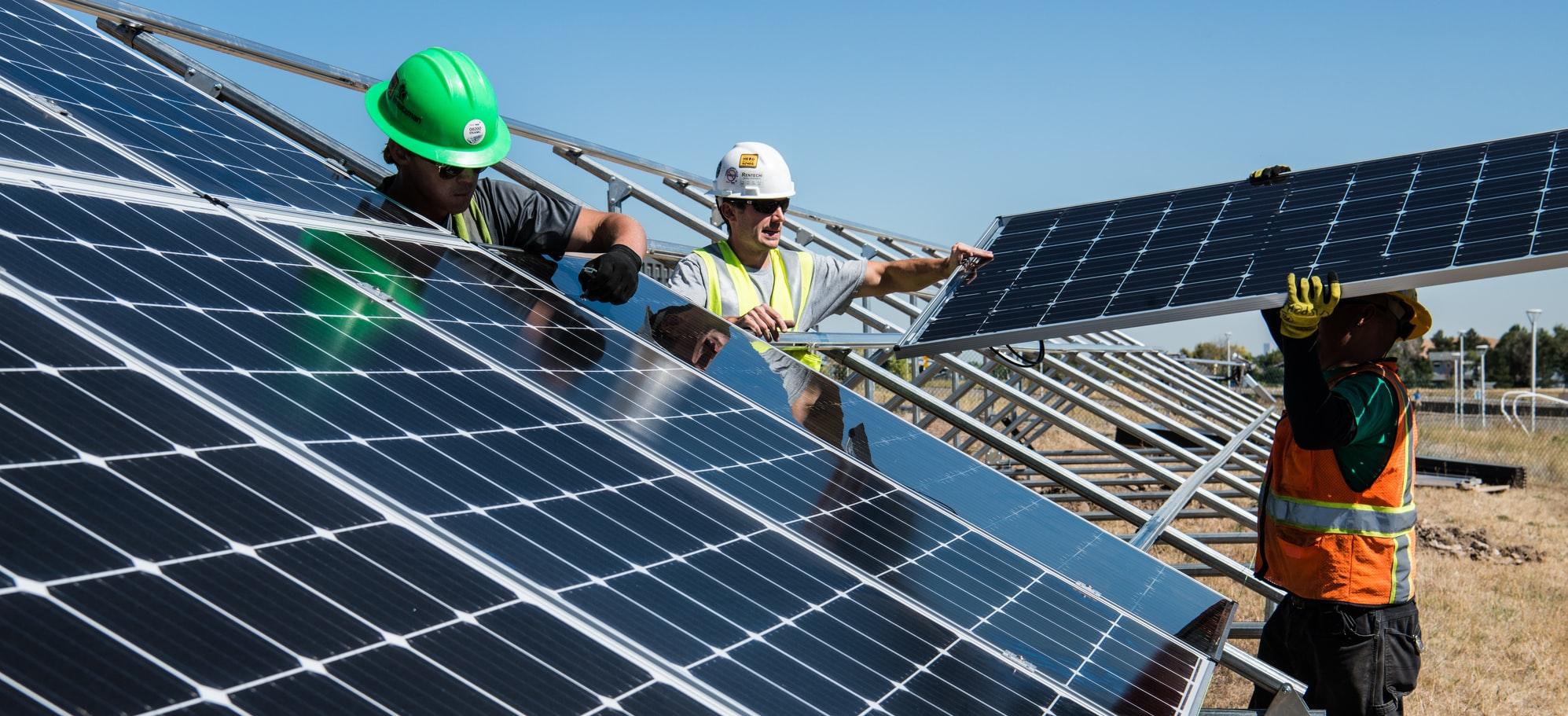 gebruik van duurzame energie